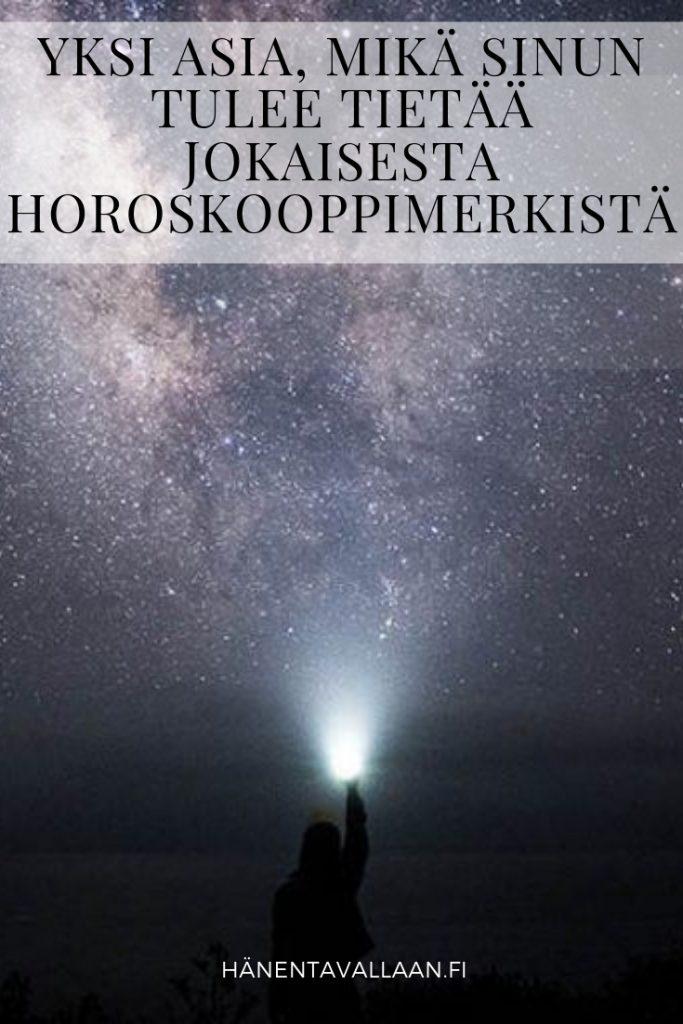 Yksi Asia, Mikä Sinun Tulee Tietää Jokaisesta Horoskooppimerkistä