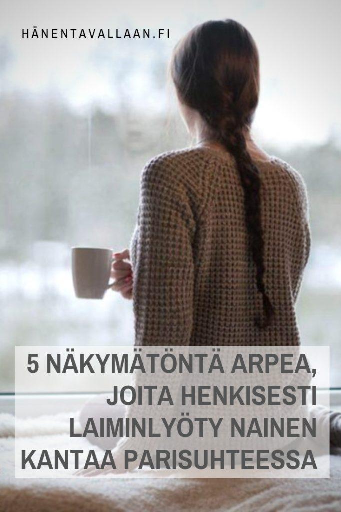 5 Näkymätöntä Arpea, Joita Henkisesti Laiminlyöty Nainen Kantaa Parisuhteessa